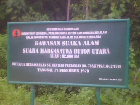 Kawasan Suaka Marga Satwa Buton Utara