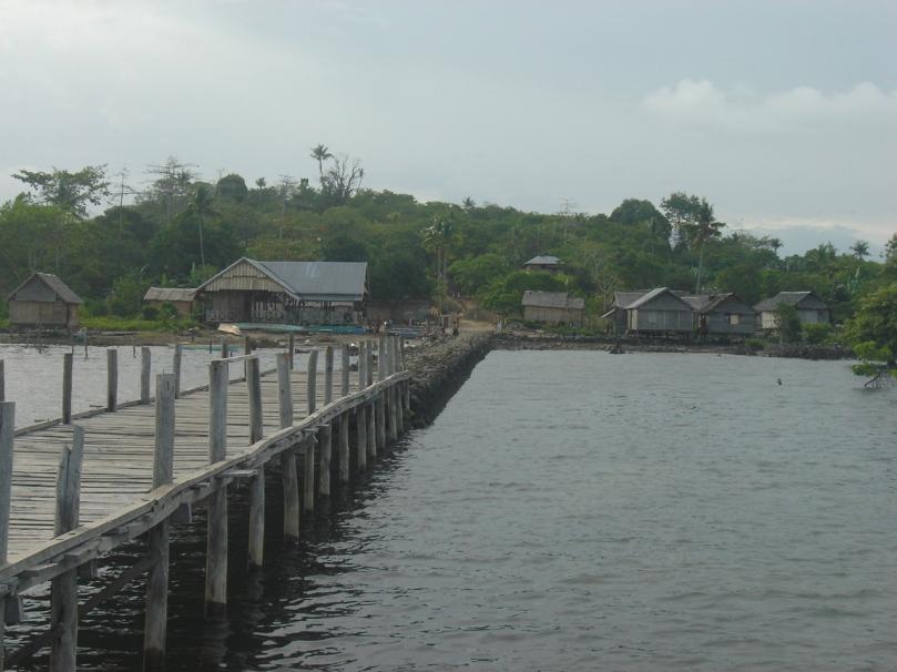 Dermaga dan Perumahan Desa Moasi